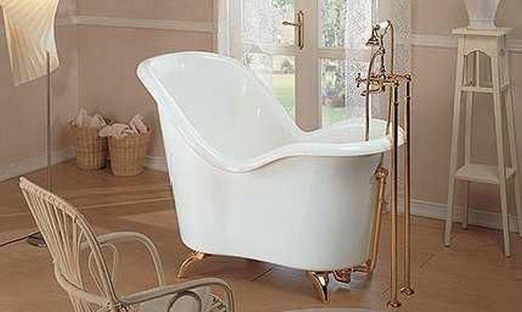 Gentil Freestanding Corner Bathtub 1