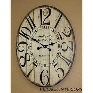 French country wall clocks 3