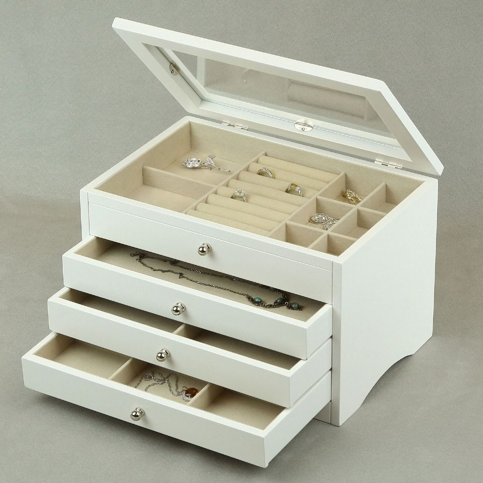 Girls Wooden Jewelry Box Foter