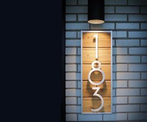 House number lights