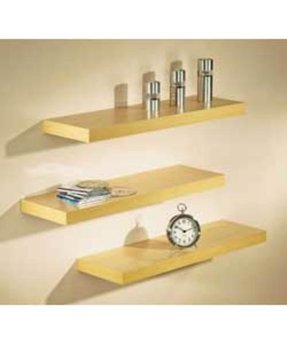 How to make wall mounted shelves