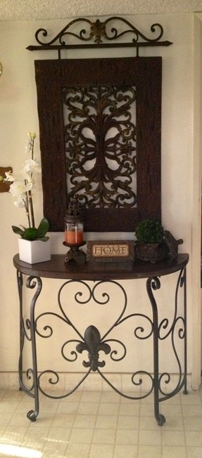 Front Entryway Console Table
