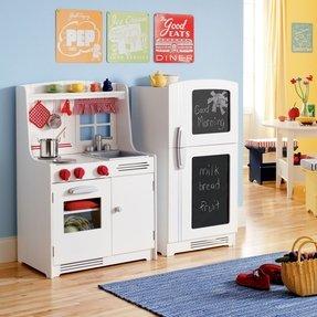 Kids Wooden Play Kitchen 1