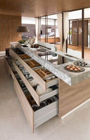Kitchen Islands With Drawers