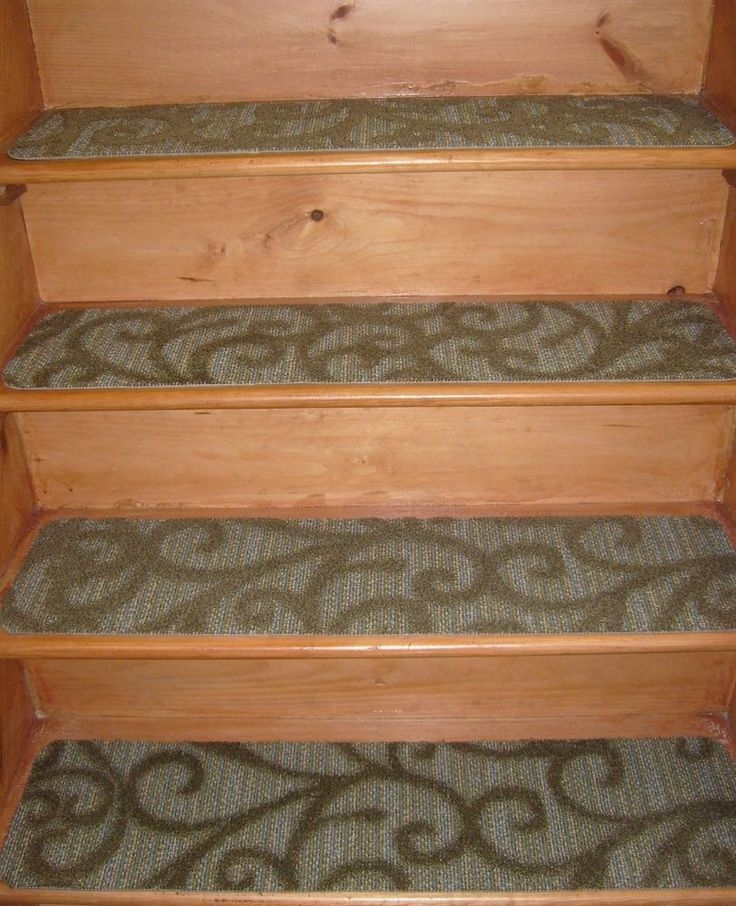 Beau If Your Indoor Stairs Are Too Slippery For You, You Can Try This Set Of 13  Rug Carpets (9u0027u0027 X 36u0027u0027) With Non Slip Properties And Easy Installation.