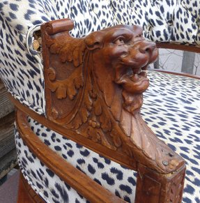 Lion arm chairs 9