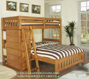 Loft bunk beds twin over full 1