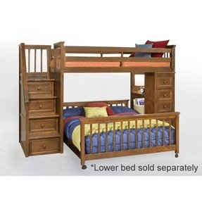 Loft bunk beds twin over full