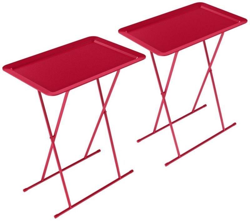 Metal Folding Tray Table 20