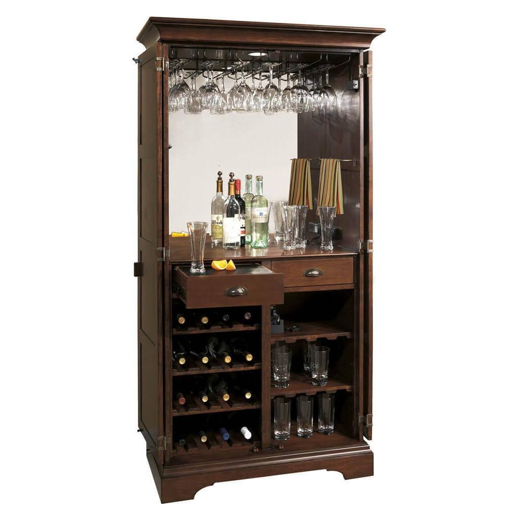Old Fashioned Liquor Cabinet