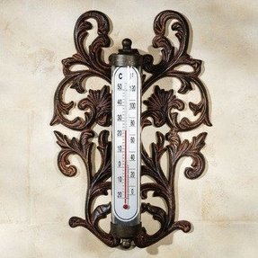 Outdoor wall thermometers 22