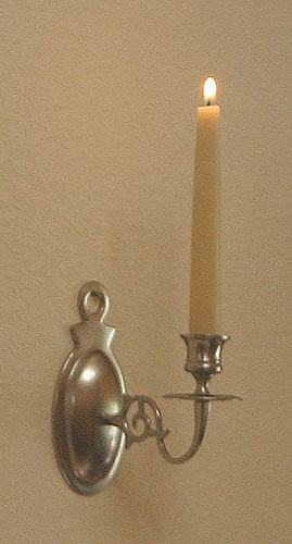 Pewter Candle Wall Sconces 28