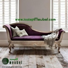 Purple chaise lounge sale