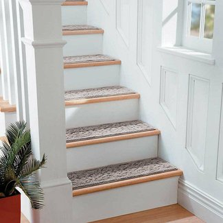 Set 4 29 Scroll Washable Indoor Stair Treads Carpet Choice