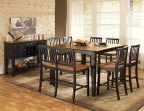 Counter Height Table With Bench Seating Ideas On Foter