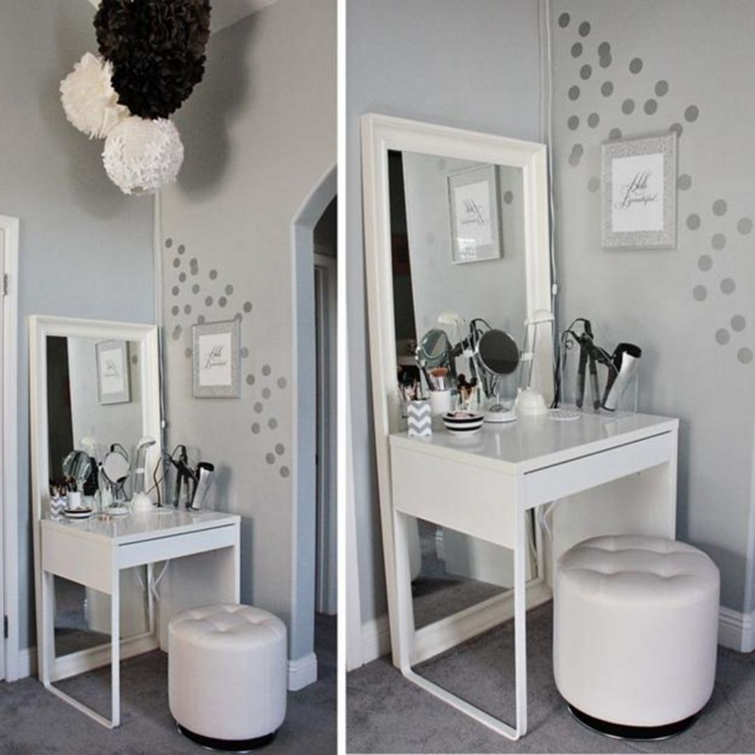 Gentil Small Vanity Table For Bedroom
