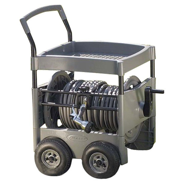 Steel-Core Hose Reel Cart  sc 1 st  Foter & Metal Wall Mount Hose Reel - Foter