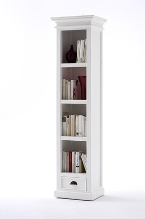 bookcases dp co home amazon tall kitchen uk bookcase lanner oak narrow