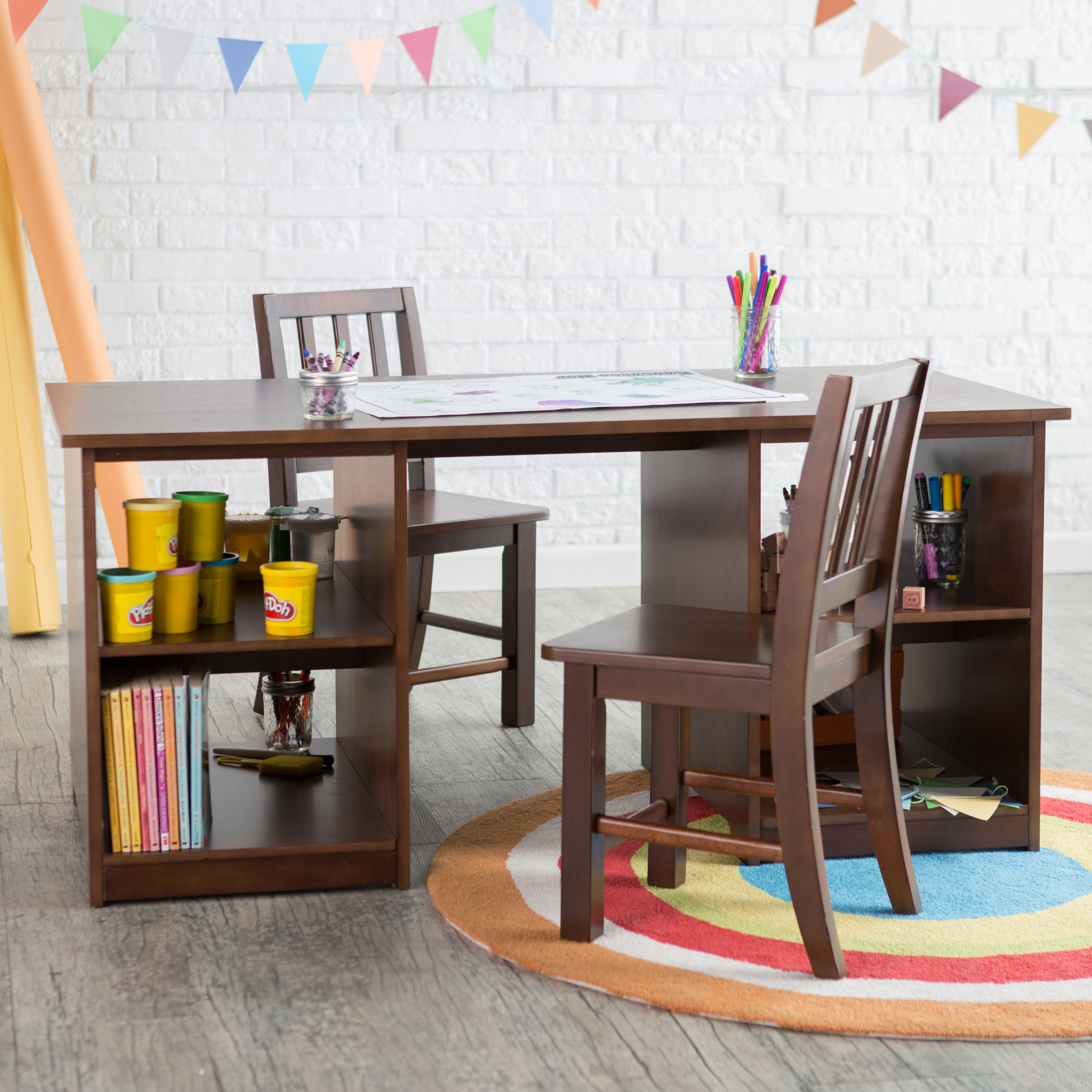 Toddler Table And Chairs With Storage   Ideas On Foter