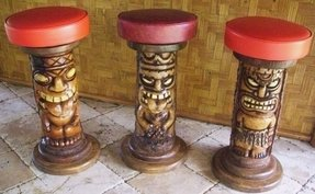 Cool Tiki Bar Stools Ideas On Foter Gmtry Best Dining Table And Chair Ideas Images Gmtryco