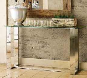 Used console table