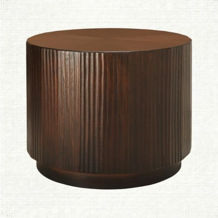 Beautiful View The Valeta Brown End Table From Arhaus With Its