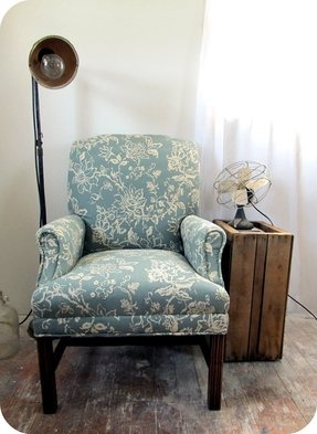 Reupholster Vintage Office Chair