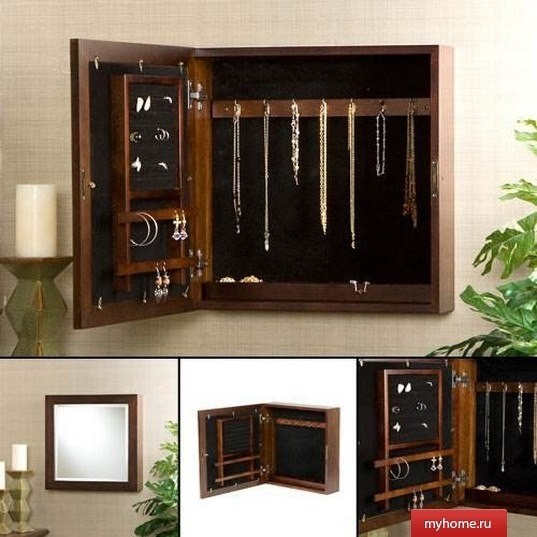 Jewelry Armoire Wall Mounted Foter