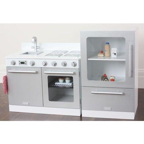 Marvelous Wooden Toddler Kitchen