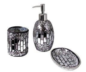 surprising black silver bathroom accessories | Modern Bathroom Accessories Sets - Foter