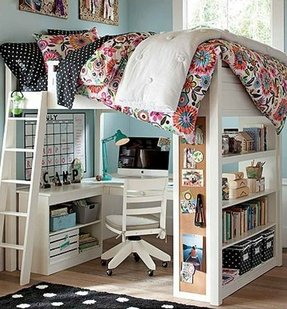 All In One Loft Bed Ideas On Foter
