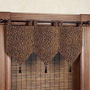 Leopard Print Window Curtains Ideas