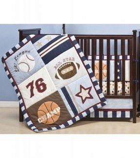 Baby Boy Sports Crib Bedding Sets Foter