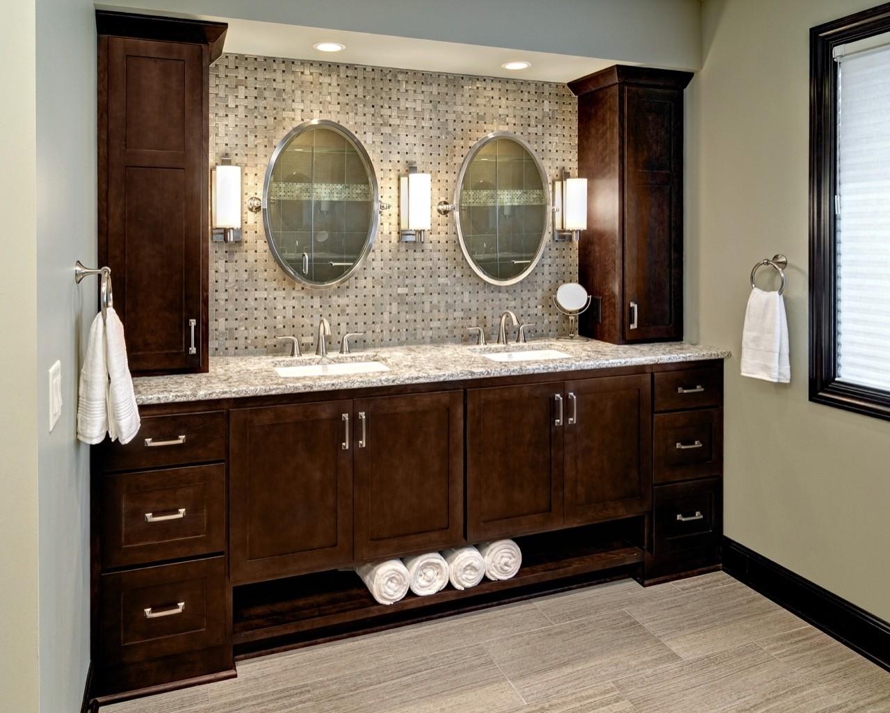 Superbe Bathroom Storage Tower Cabinet