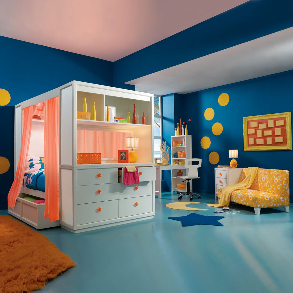 Impressive Kids Full Size Bedroom Sets Painting