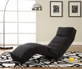 Black Chaise Lounge Indoor - Foter
