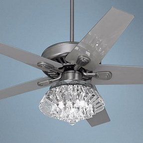 Crystal Ceiling Fan Light Kit - Foter
