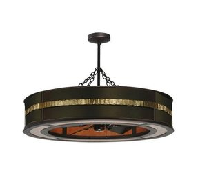 Crystal ceiling fan light kit foter ceiling fan with chandelier light kit aloadofball Images
