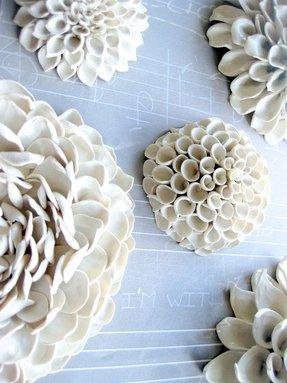 Ceramic Flower Wall Art For 2020