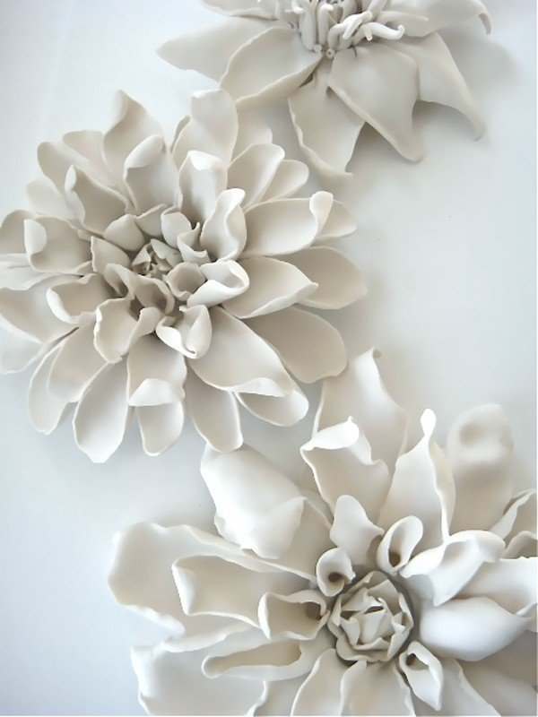 Ceramic Flower Wall Art Foter