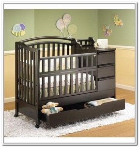 Mini Crib With Storage Home Ideas