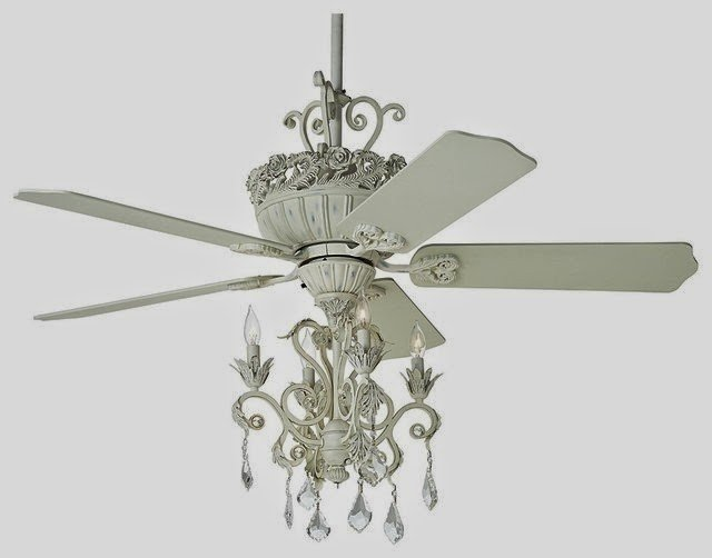 Country Cottage 52 Casa Chic Antique White Chandelier Ceiling Fan Modern Originals And Limited Editions