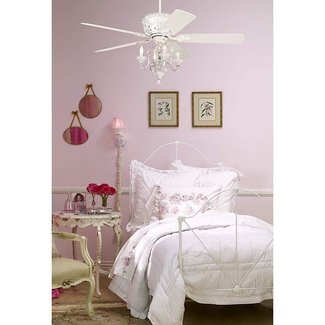 Crystal ceiling fan light kit 3