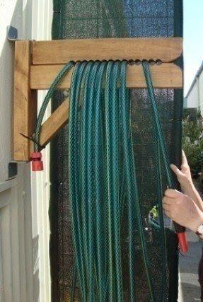 garden hose storage ideas. Decorative Hose Reels 2 Garden Storage Ideas
