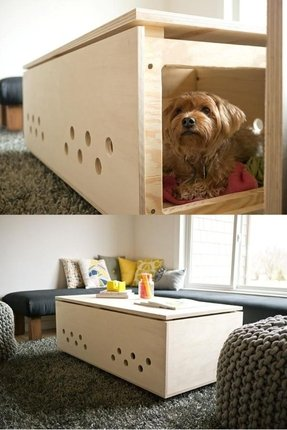 Dog cage table 2