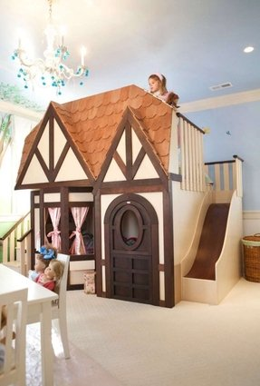 Outstanding Doll House Bunk Beds Ideas On Foter Home Interior And Landscaping Mentranervesignezvosmurscom