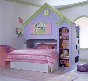Doll house bunk beds 2