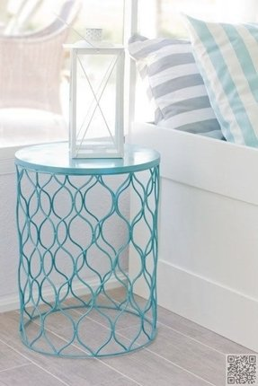 Drum end table 10