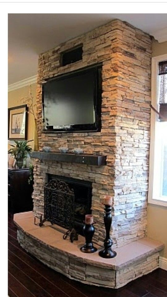 Wonderful Fake Wall Fireplace 4