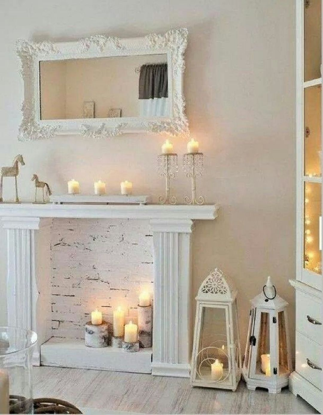 Faux fireplace plans